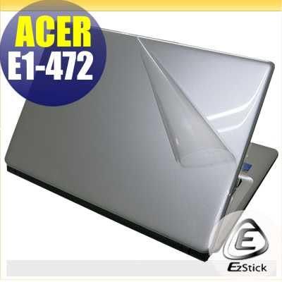 【EZstick】ACER Aspire E1-472 系列專用 二代透氣機身保護貼(含上蓋、鍵盤週圍)DIY 包膜