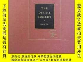 二手書博民逛書店【包罕見】The Divine Comedy,《神曲》, Dan