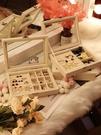 首飾收納盒 耳釘耳環收納盒子飾品防塵首飾...