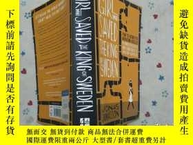 二手書博民逛書店GIRL罕見SAVED KING SWEDENY179226 外