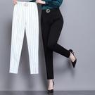 九分褲 哈倫褲女夏季薄款2020新款寬鬆顯瘦大碼休閒九分蘿卜女褲夏款褲子