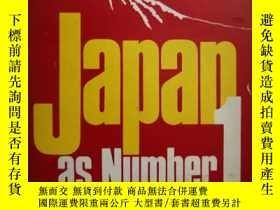 二手書博民逛書店JAPAN罕見AS NUMBER ONE :LESSONS FO