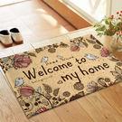 ♚MY COLOR♚手繪風小鳥圖案地墊(短) 門墊 腳墊 地毯 玄關 浴室 廚房 臥室 客廳 防滑【V04】