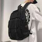 後背包 雙肩包男2021年新款初高中學生韓版原宿ulzzang大容量書包女背包 交換禮物