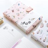 手帳本隨身可愛筆記本手賬本大學生小清新創意韓國文具厚小記事本雙12狂歡
