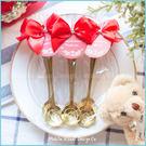 婚禮小物-精巧包玫瑰湯匙--二次進場/工商禮/開幕贈品/公關企劃活動禮物/來店禮/情人節禮物分享
