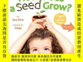 二手書博民逛書店How罕見Does a Seed Grow?Y362136 Sue Kim Little Simon (Mar