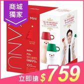 韓國 Kanu 聖誕限量咖啡組(隨機保溫瓶+美式咖啡0.9gx100入)【小三美日】