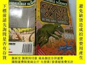 二手書博民逛書店Evolve罕見or Die:進化或死亡Y200392