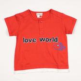 【愛的世界】純棉圓領短袖T恤/4~6歲-台灣製-n4 ★春夏上著