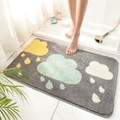 廚房地墊 簡約衛生間地墊浴室防滑墊洗手間廁所吸水腳墊子家用臥室【