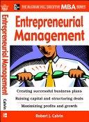二手書博民逛書店 《Entrepreneurial Management》 R2Y ISBN:0071450920│McGraw-Hill Professional
