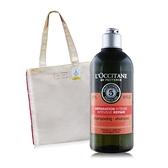L'OCCITANE 歐舒丹 草本修護洗髮乳(300ml)+玫瑰托特包超值入手組