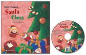 書立得-Here Comes Santa Claus 聖誕老公公來嘍! (書+CD)