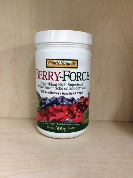 Prairie Naturals BERRY~FORCE 綜合莓果精華 300g (全素可食)