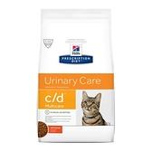 【寵愛家】Hills希爾思處方貓用泌尿道飼料 c/d Multicare 6公斤