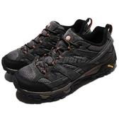 Merrell 戶外鞋 Moab 2 Vent 灰 咖啡 透氣 越野 休閒鞋 運動鞋 男鞋【ACS】 ML06015