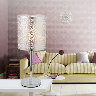 不鏽鋼雕花台燈