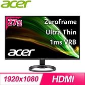 【南紡購物中心】ACER 宏碁 R272 27型 IPS 廣視角螢幕