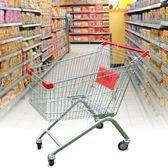 超市購物車 家用手推車 購物推車便利店物業推車買菜車jy【滿一元免運】