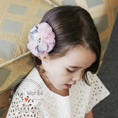 髮夾 花朵 蝴蝶結 兒童 頭飾 BW