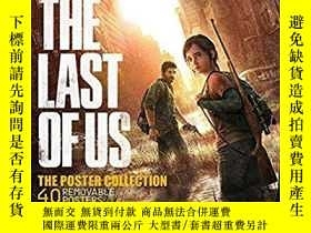 二手書博民逛書店Last罕見of Us Poster Collection 海報