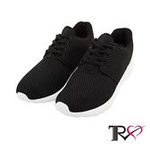 【TRS】韓國TRS空氣增高鞋內增高7公分休閒鞋-經典黑(7100-0034)