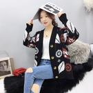 VK精品服飾 韓國風慵懶針織男友風單品外套