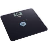 H&K 家居健康精準電子體重計-黑【愛買】