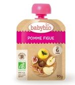 【Babybio】法國有機纖果泥 (蘋果無花果) 90g