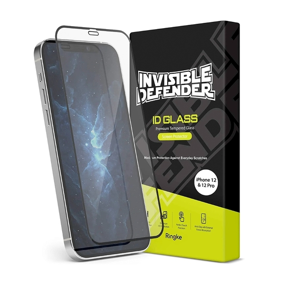Rearth Ringke Apple iPhone 12/12 Pro 滿版強化玻璃螢幕保護貼