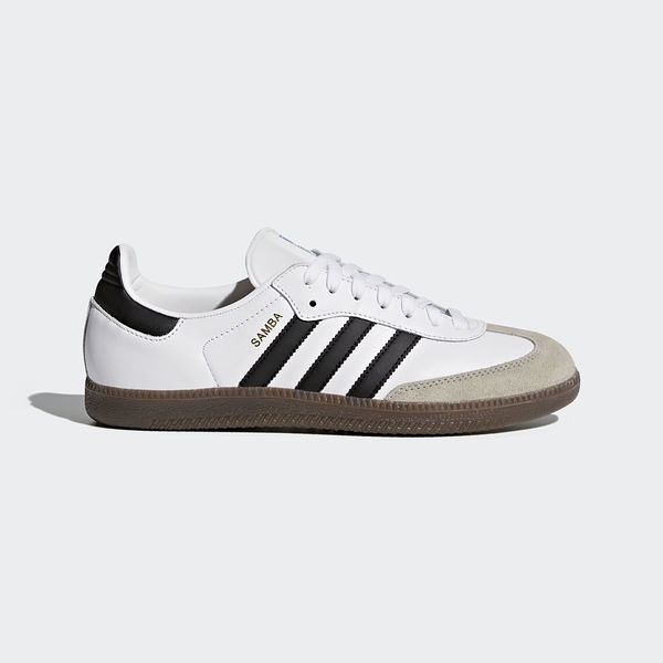 Adidas Originals Samba OG [BZ0057] 男鞋 運動 休閒 白 黑