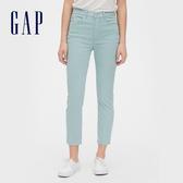 Gap女裝活力亮色五口袋牛仔褲519360-清水色