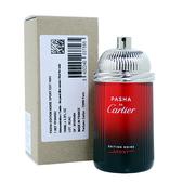 【Cartier】PASHA 卡地亞 巴夏運動黑色版 淡香水 100ml (TESTER-環保盒無蓋)