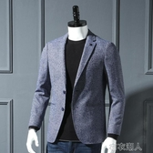 西裝男 外貿工廠剪標尾貨秋季新款男士韓版修身西服西裝單西潮 布衣潮人