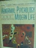 ~書寶 書T8 /大學理工醫_QKJ ~Abnormal psychology and m
