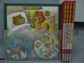 【書寶二手書T8/少年童書_QJJ】The Animal Family Stories Series_共5書+4光碟合售