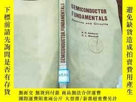 二手書博民逛書店SEMICONDUCTOR罕見FUNDAMENTALS 半導體基礎知識Y356856