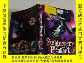 二手書博民逛書店Skulduggery罕見Pleasant THE FACELESS ONES(没有脸的人喜欢骗人)Y2003