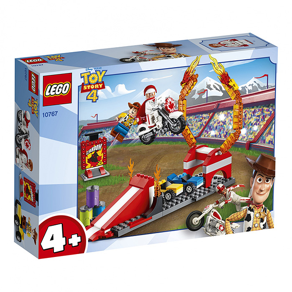 LEGO 樂高 玩具總動員4 10767 Duke Caboom's Stunt Show 【鯊玩具Toy Shark】