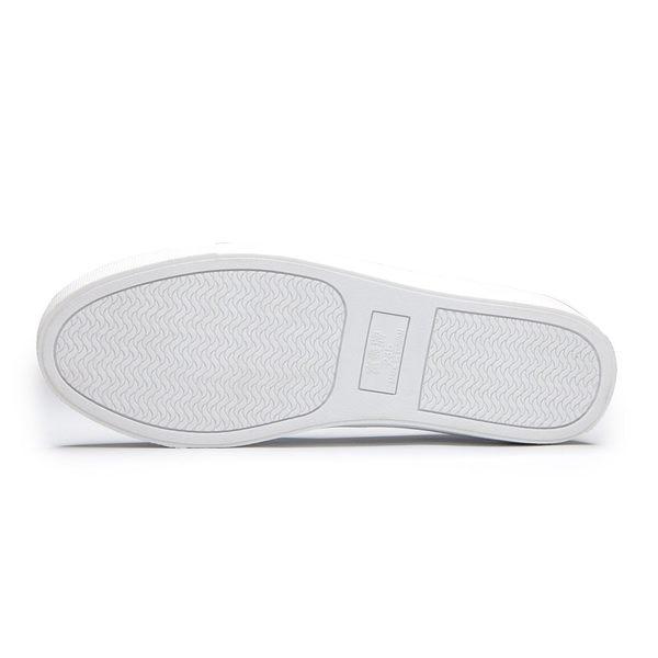【富發牌】條紋元素懶人鞋-黑/藍/粉  1BR44