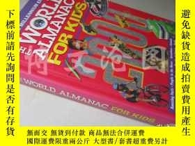 二手書博民逛書店The罕見World Almanac For Kids 2000