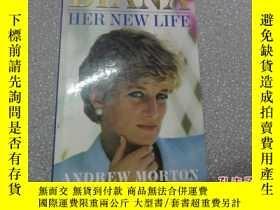 二手書博民逛書店外文原版罕見DIANA HER NEW LIFE 戴安娜的新生活