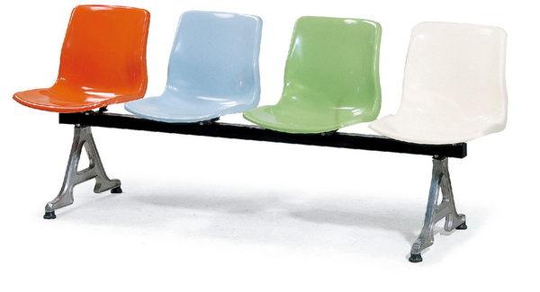 【 IS空間美學】FRP排椅-2人座(三款尺寸可選)