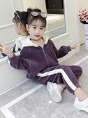 女童秋裝2019新款時髦套裝韓版潮衣洋氣時尚兒童中大童兩件套童裝【寶媽優品】