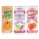 日本光 有機微氣泡果汁250g(3款可選)