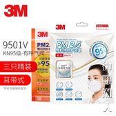 3M口罩9001V防霧霾PM2.5防工業粉塵灰口罩男女透氣易呼吸不可清洗 街頭潮人