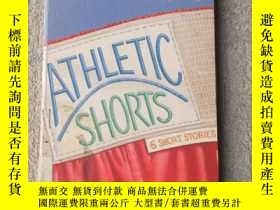 二手書博民逛書店Athletic罕見Shorts; 6 Short Storie