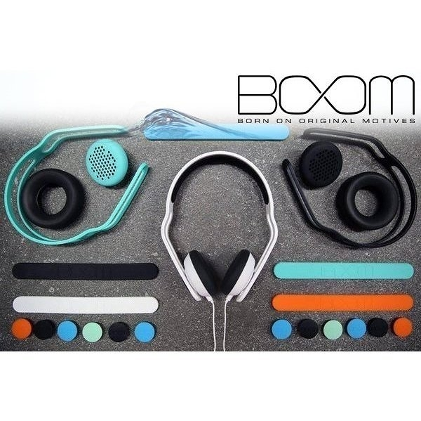 ☆愛思摩比☆BOOM Swap 玩色防水耳罩式耳機 多種顏色 防水防汗 耐用材質