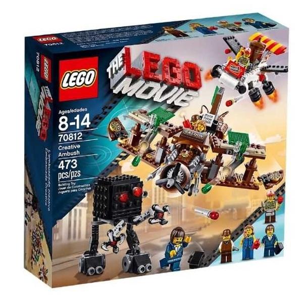 LEGO 樂高 The Lego Movie 樂高玩電影 Creative Ambush 酒吧飛機 70812